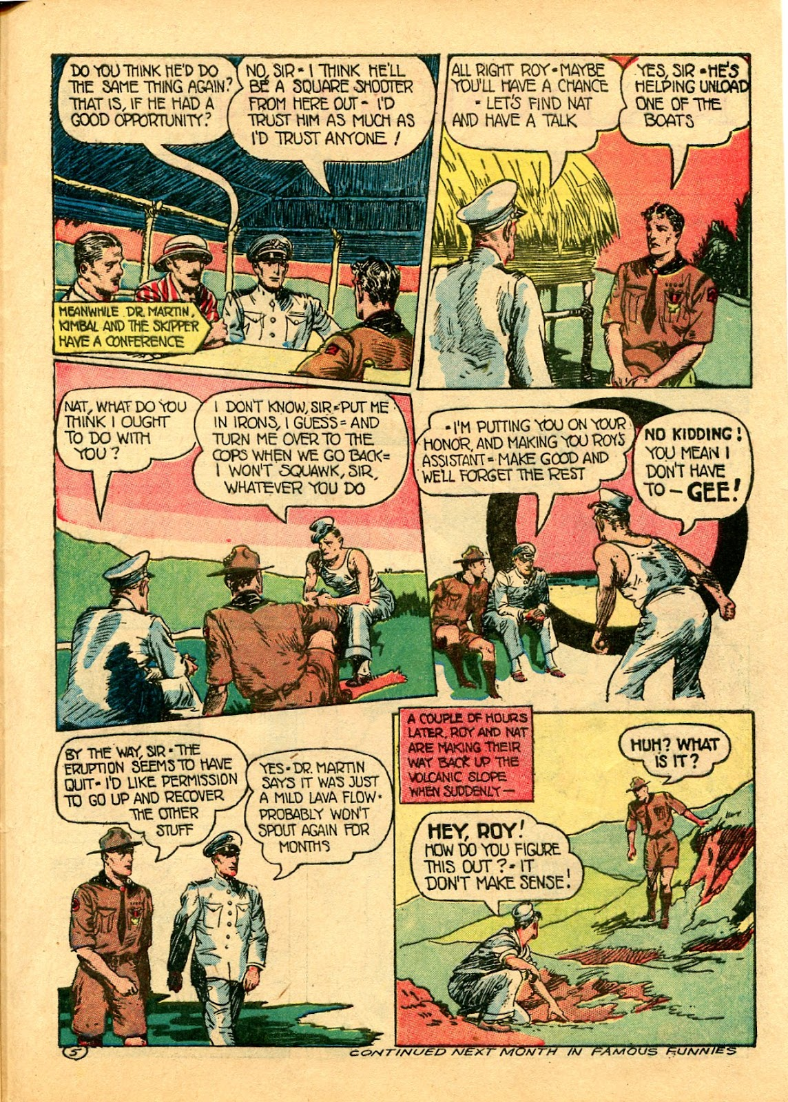 Read online Famous Funnies comic -  Issue #102 - 55