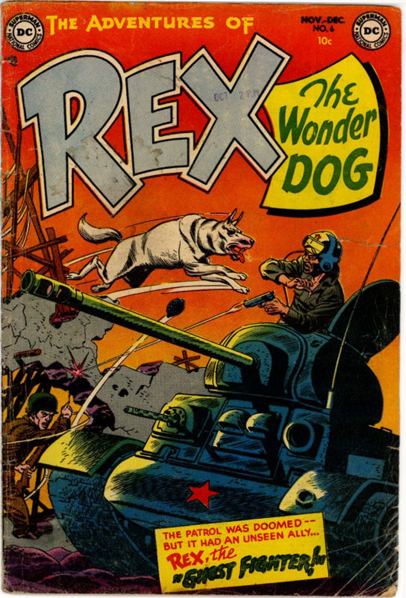 The Adventures of Rex the Wonder Dog issue 6 - Page 1
