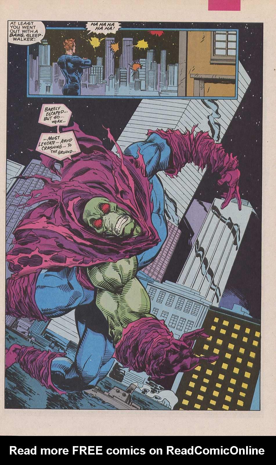 Read online Sleepwalker comic -  Issue #19 - 19