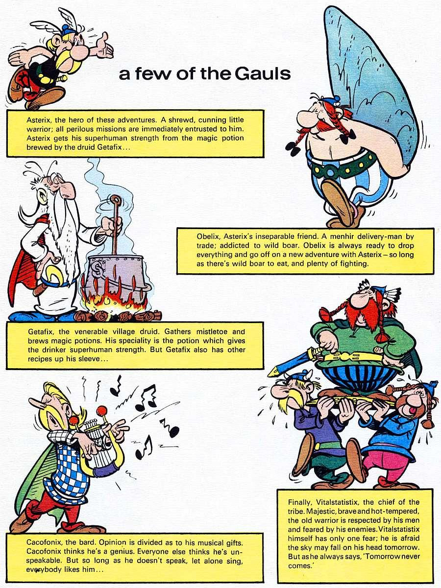 Read online Asterix comic -  Issue #15 - 5