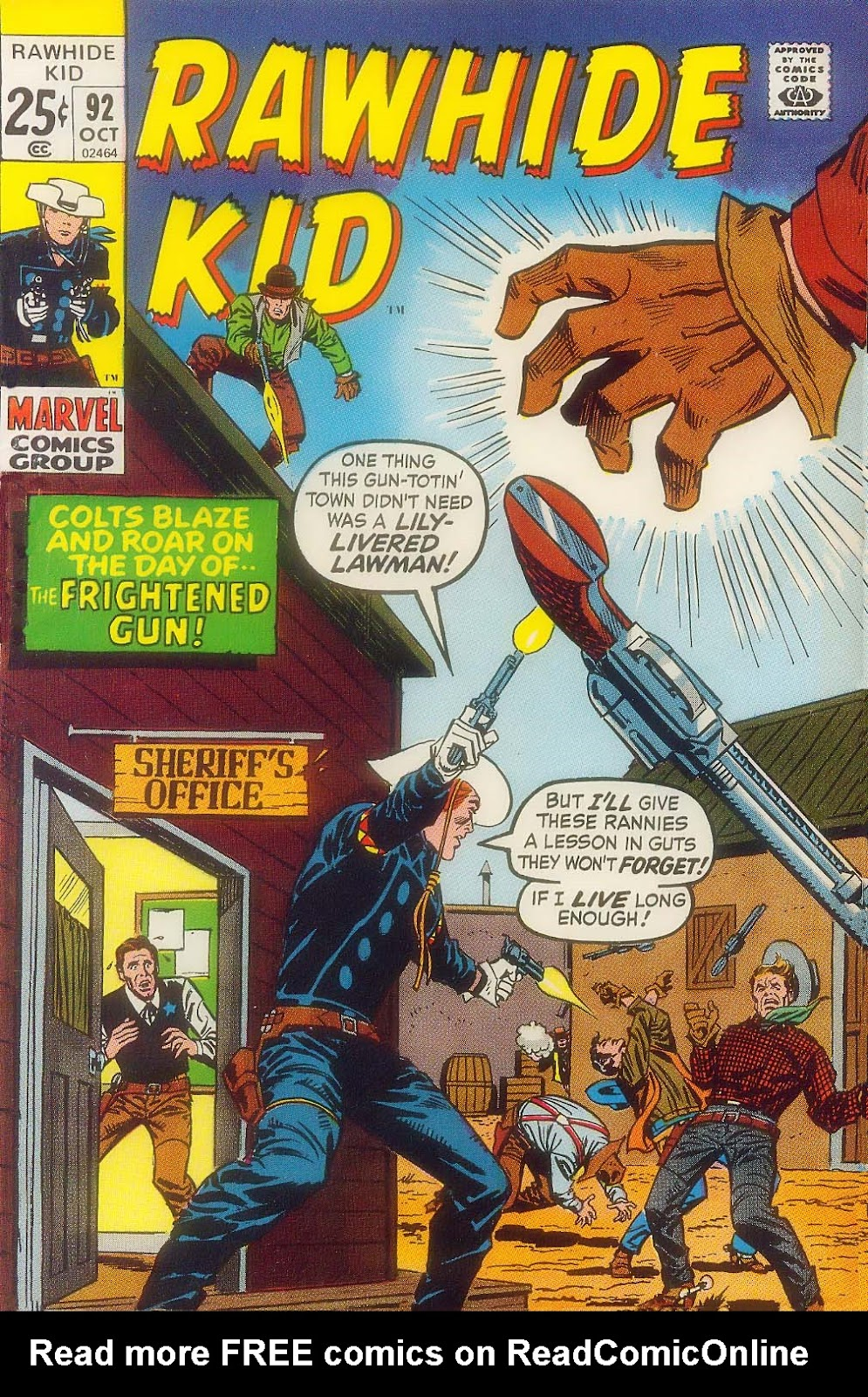 The Rawhide Kid (1955) issue 92 - Page 1