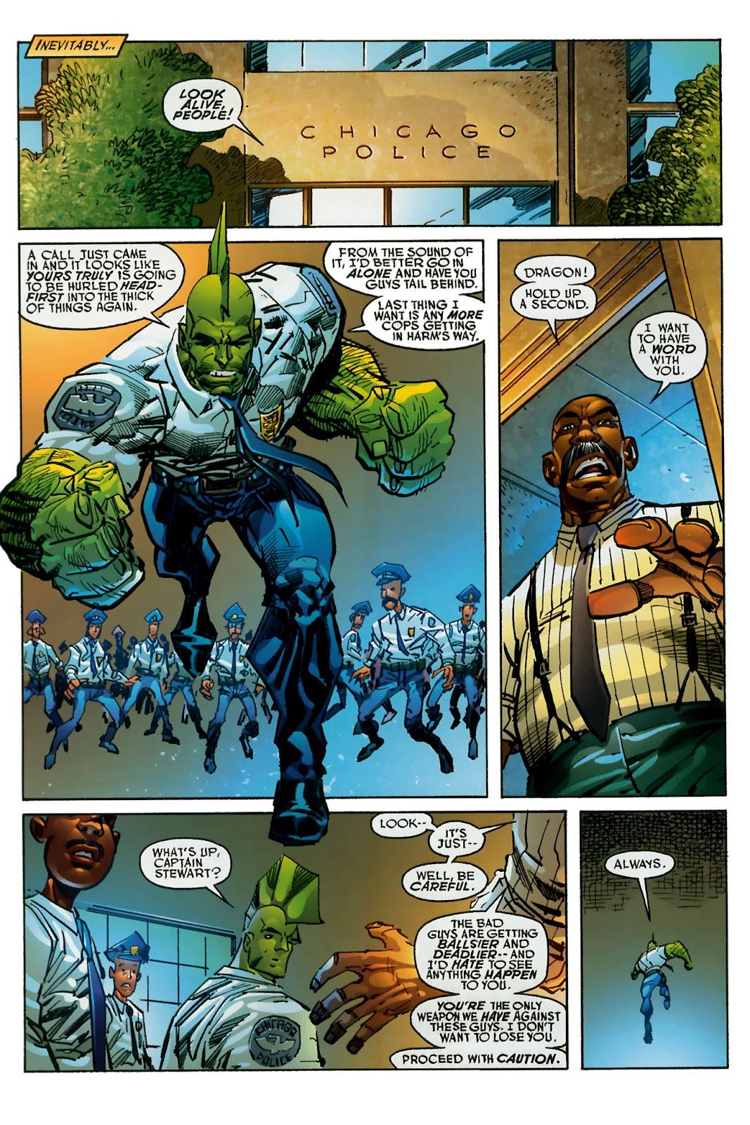 The Savage Dragon (1993) Issue #150 #153 - English 25