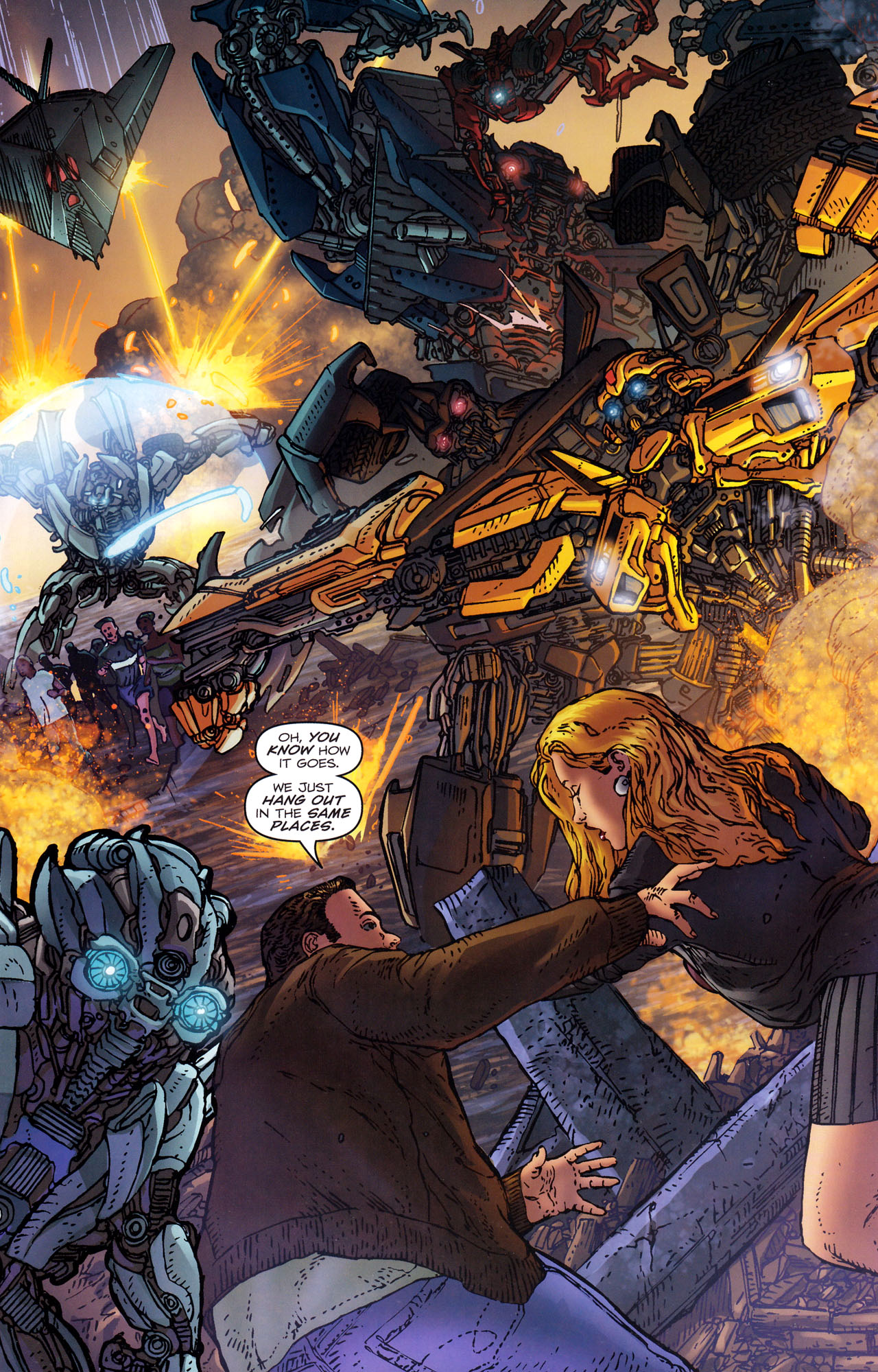 Read online Transformers: Dark of the Moon Rising Storm comic -  Issue #3 - 12