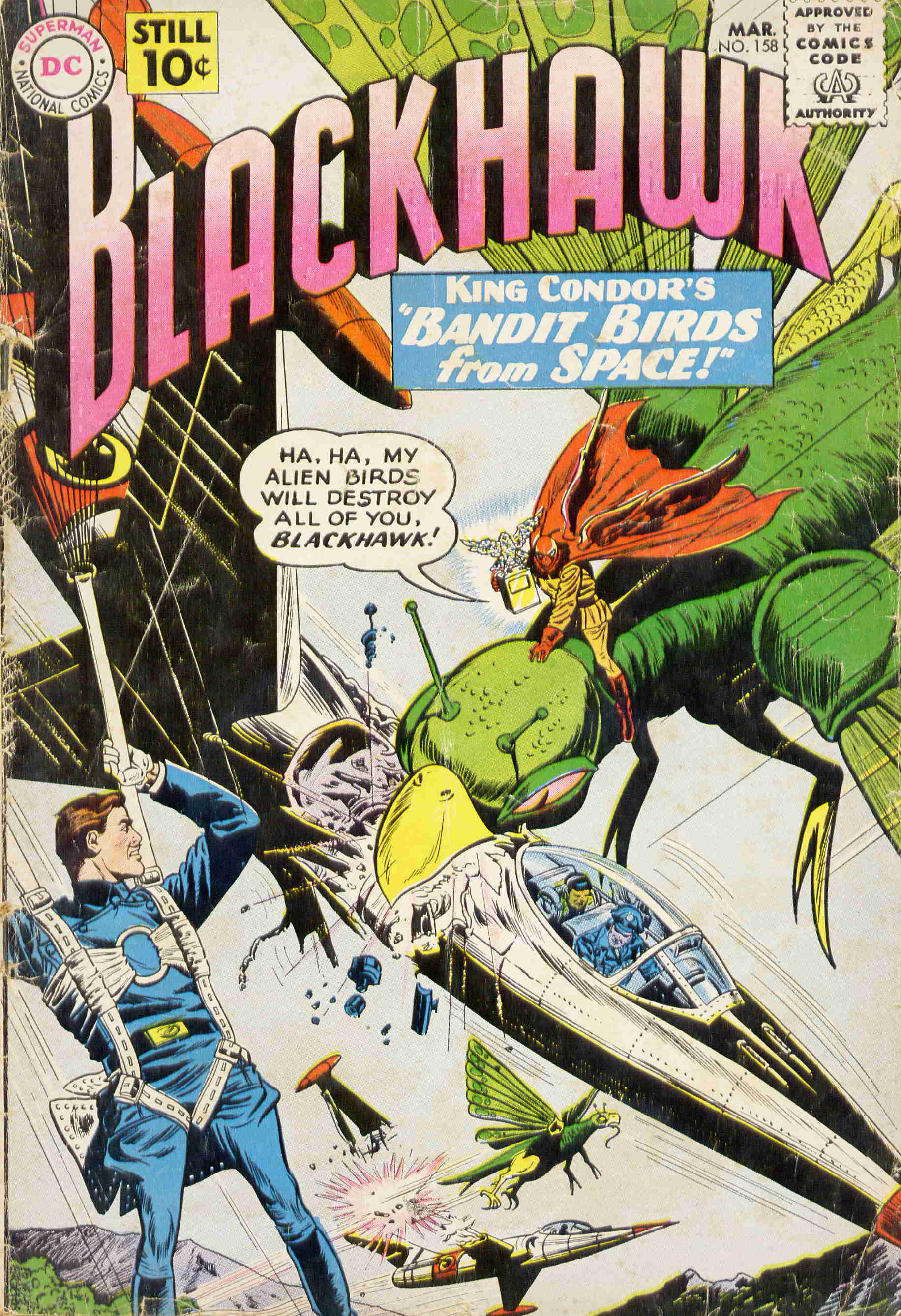 Blackhawk (1957) 158 Page 1