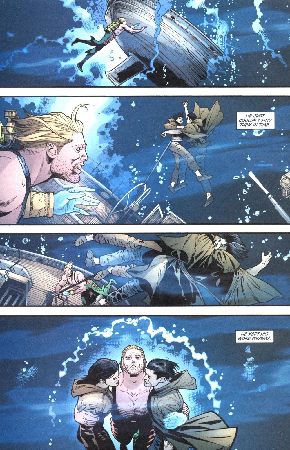 Read online Aquaman (2003) comic -  Issue #13 - 21