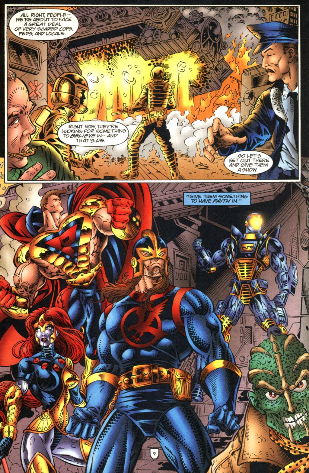 Read online UltraForce (1995) comic -  Issue #2 - 10