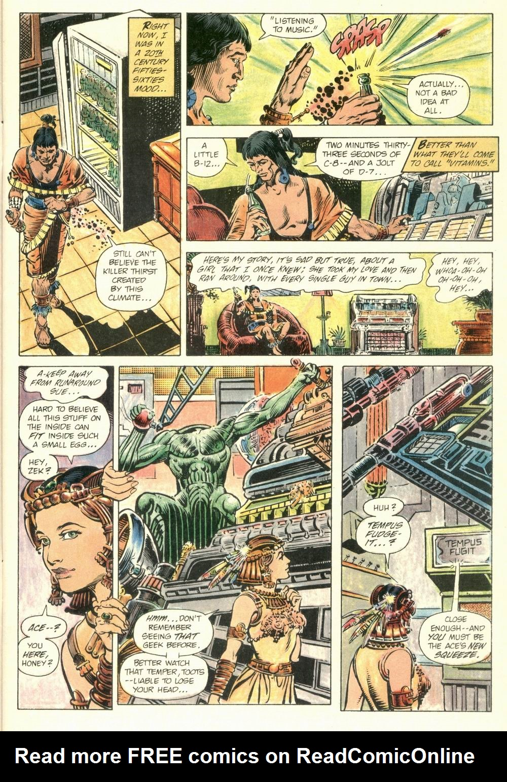 Read online Aztec Ace comic -  Issue #1 - 9