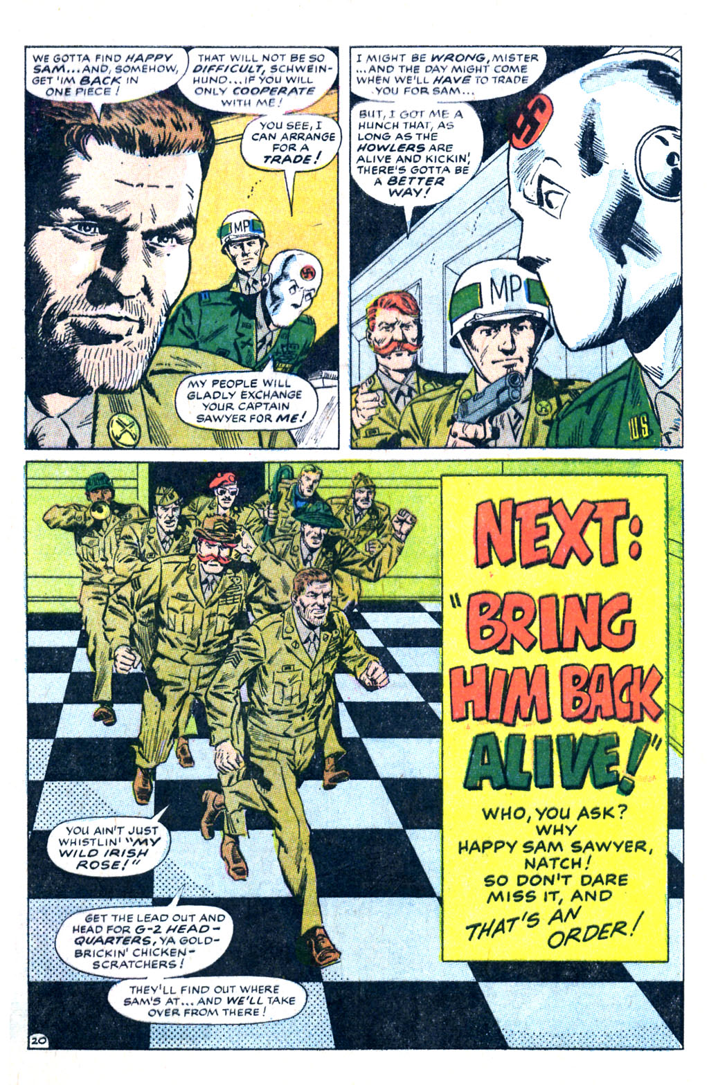 Read online Sgt. Fury comic -  Issue #60 - 29