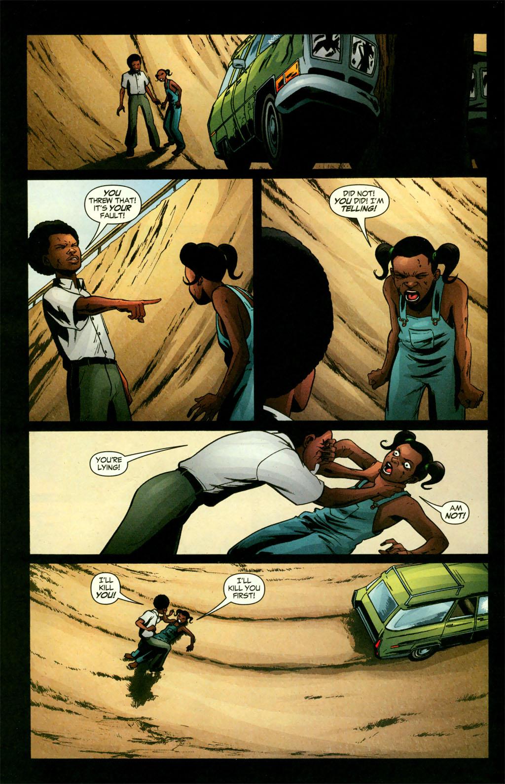 Read online Fallen Angel (2003) comic -  Issue #11 - 5