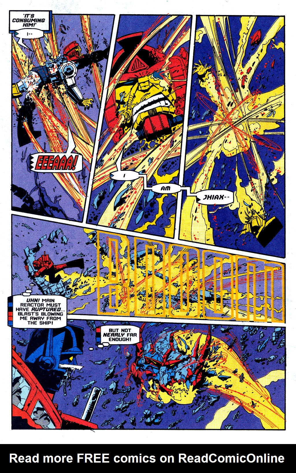 Read online Transformers: Generation 2 comic -  Issue #12 - 19