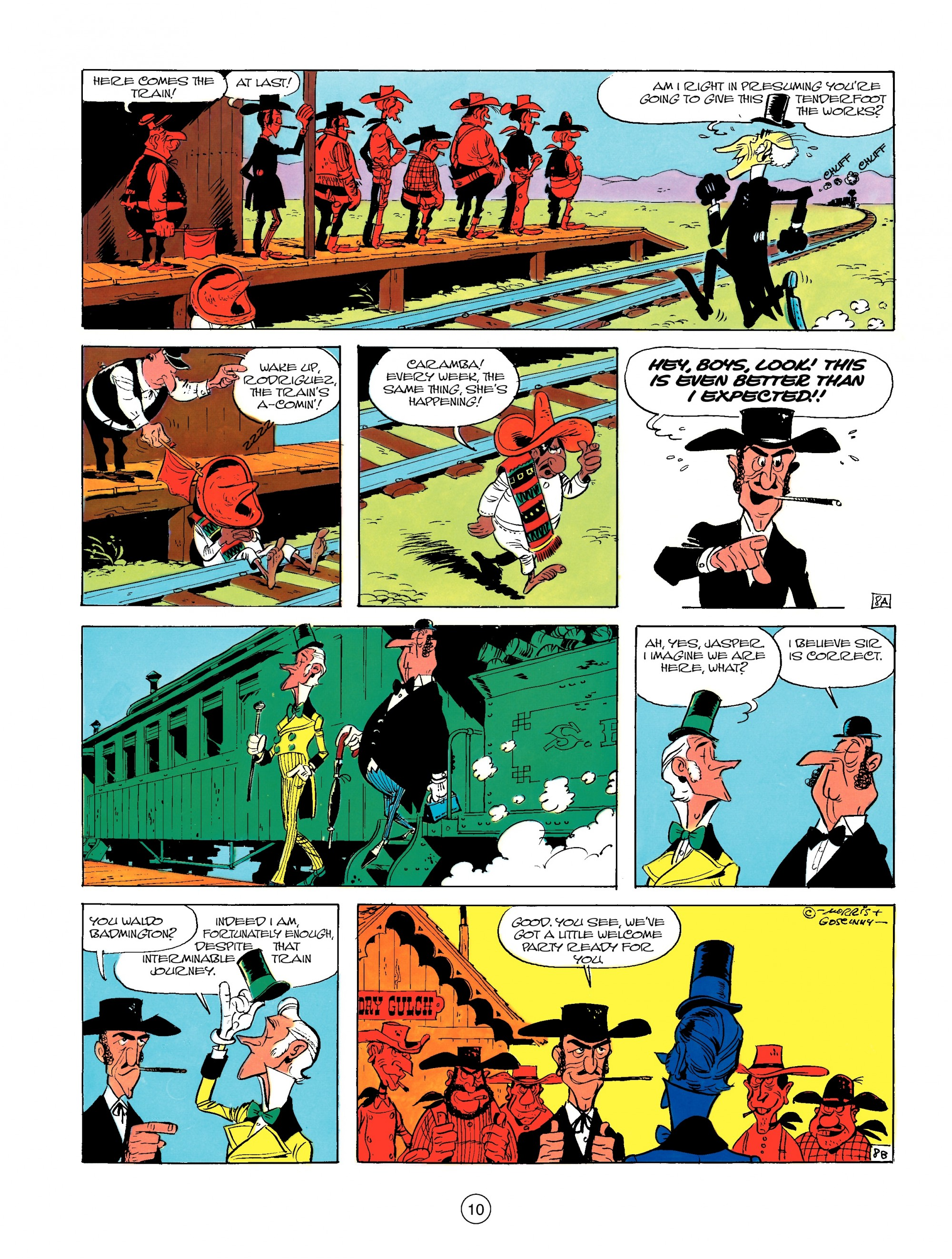 Read online A Lucky Luke Adventure comic -  Issue #13 - 10