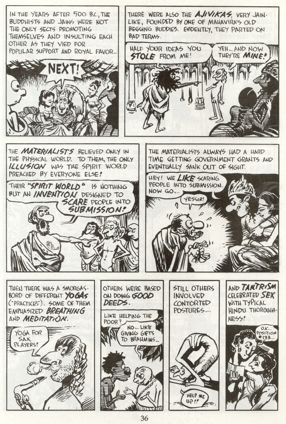 Read online The Cartoon History of the Universe comic -  Issue #8 - 39
