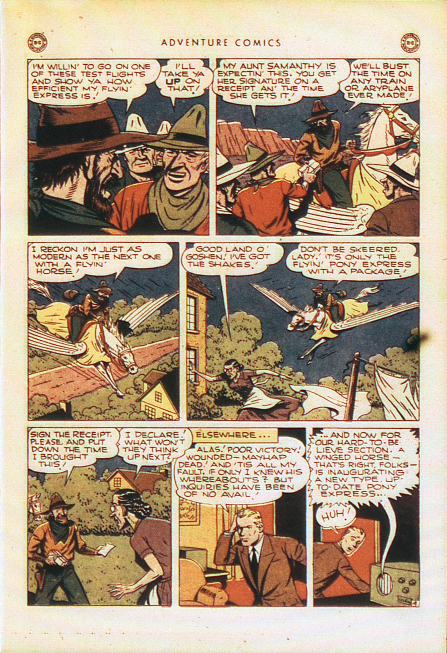 Read online Adventure Comics (1938) comic -  Issue #104 - 34