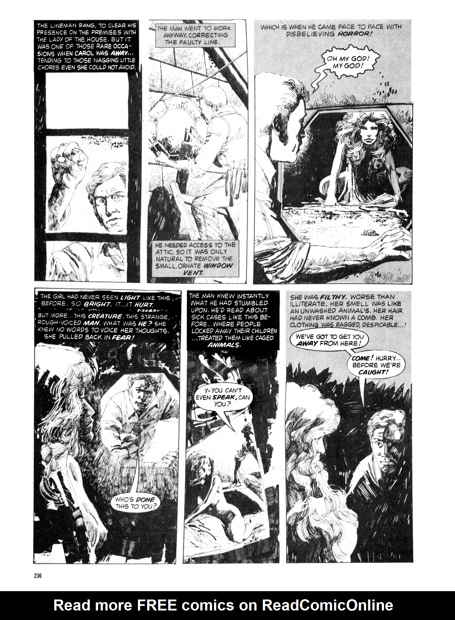 Read online Eerie Archives comic -  Issue # TPB 18 - 233