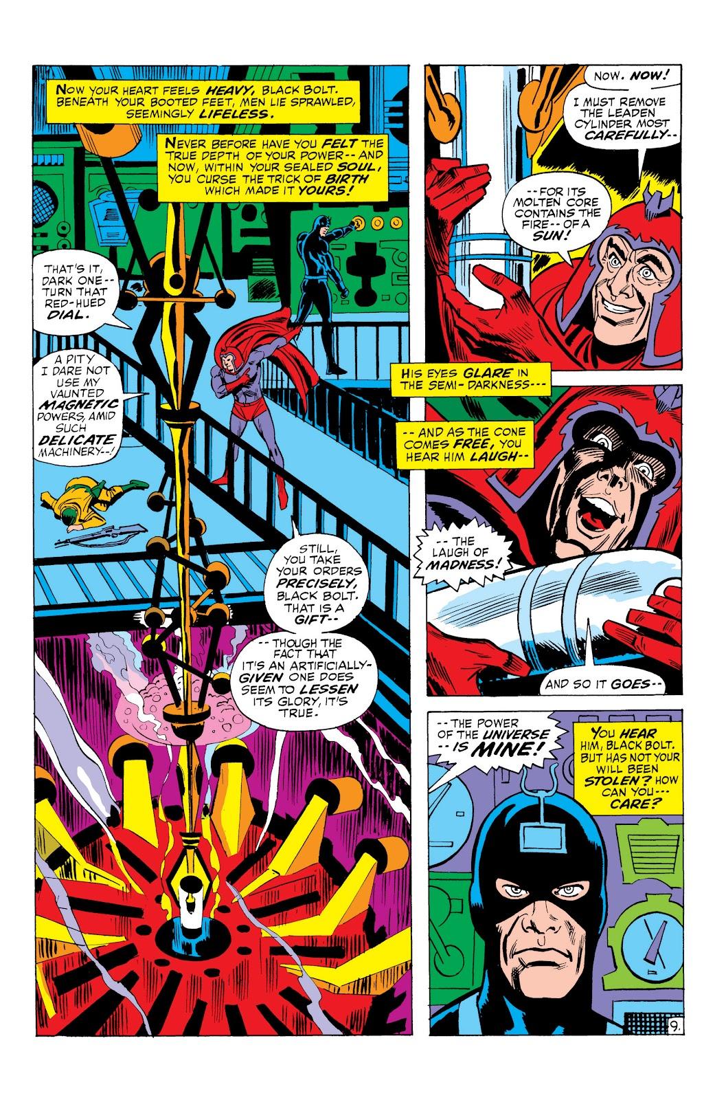 Read online Marvel Masterworks: The Inhumans comic -  Issue # TPB 1 (Part 2) - 87