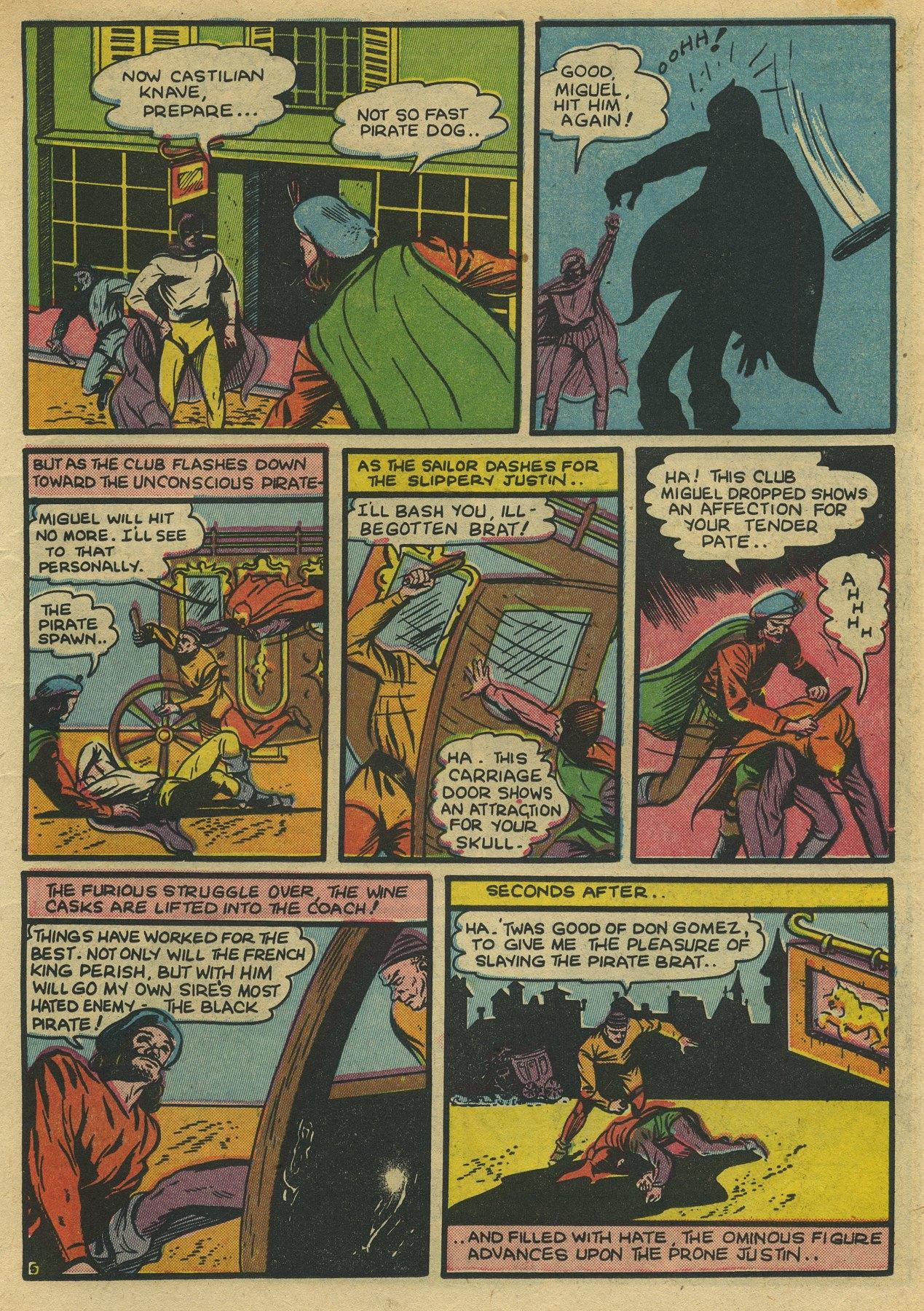 Read online Sensation (Mystery) Comics comic -  Issue #10 - 21