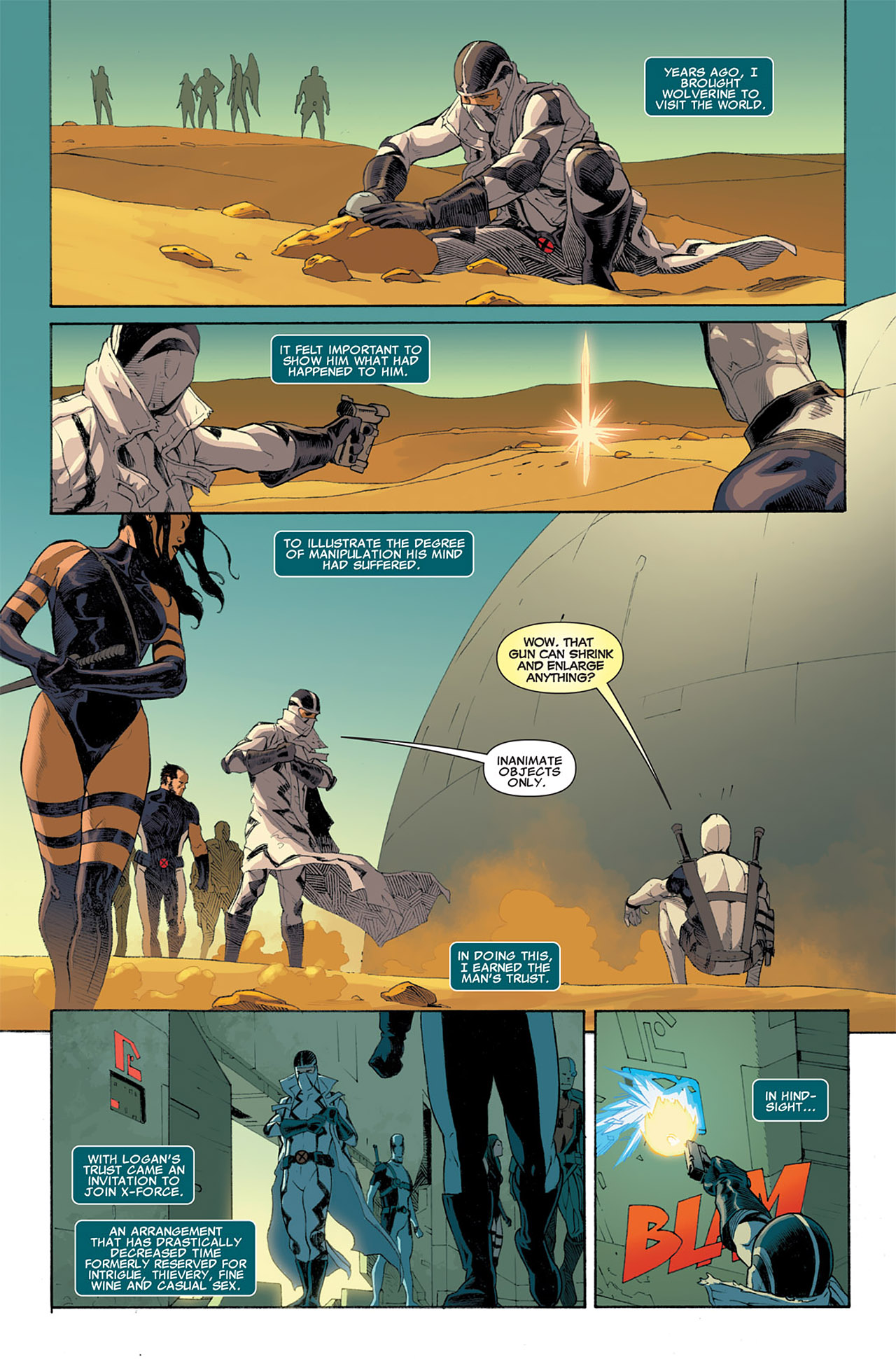 Read online Uncanny X-Force (2010) comic -  Issue #7 - 3