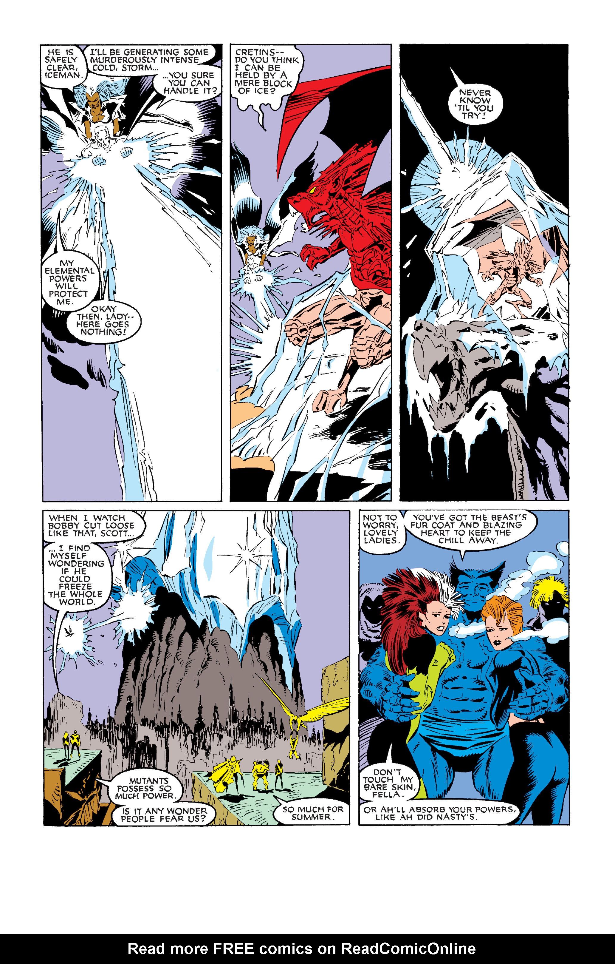 Read online Uncanny X-Men (1963) comic -  Issue #242 - 32
