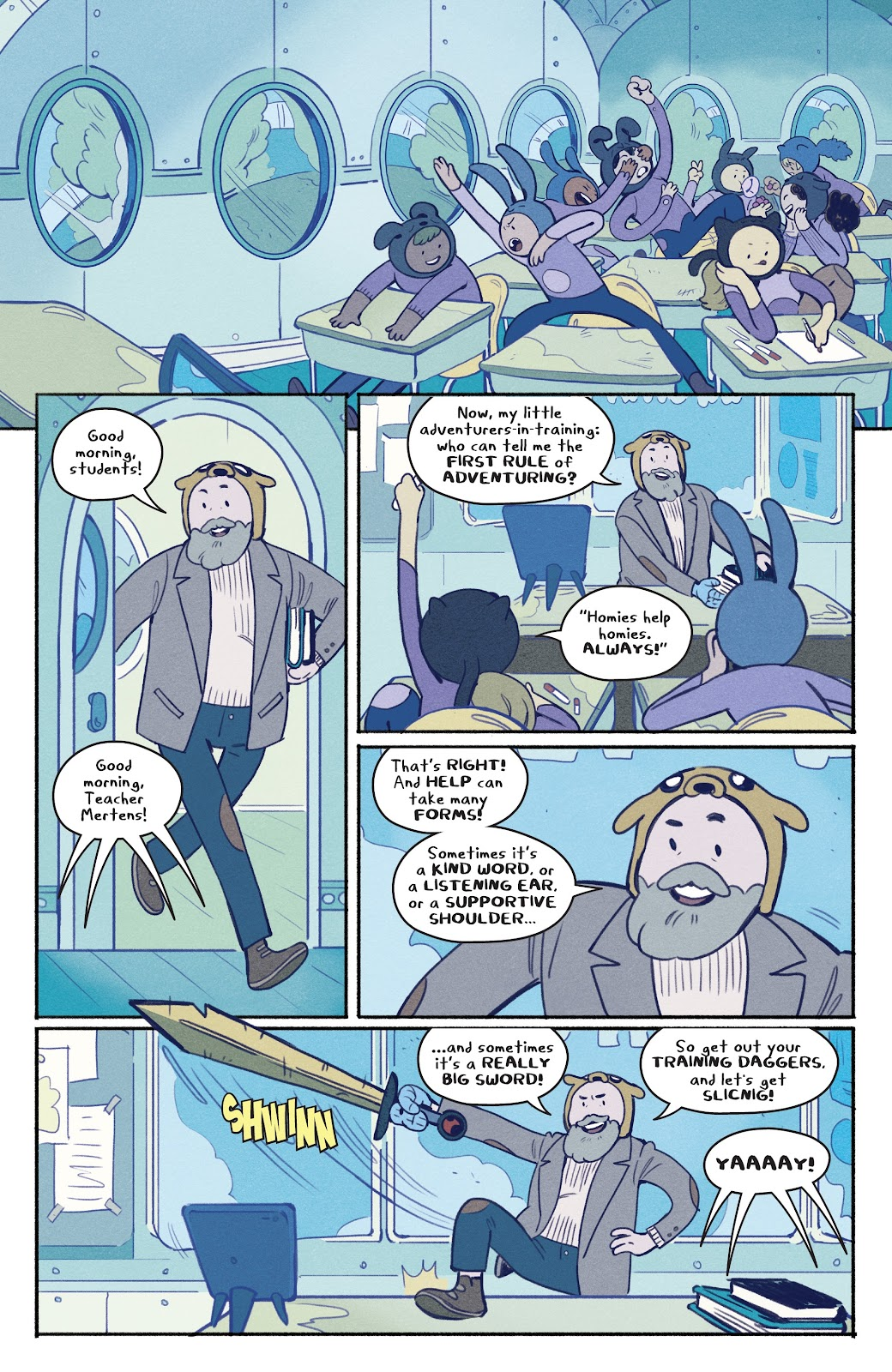 Read online Adventure Time: Beginning of the End comic -  Issue # _TPB - 60