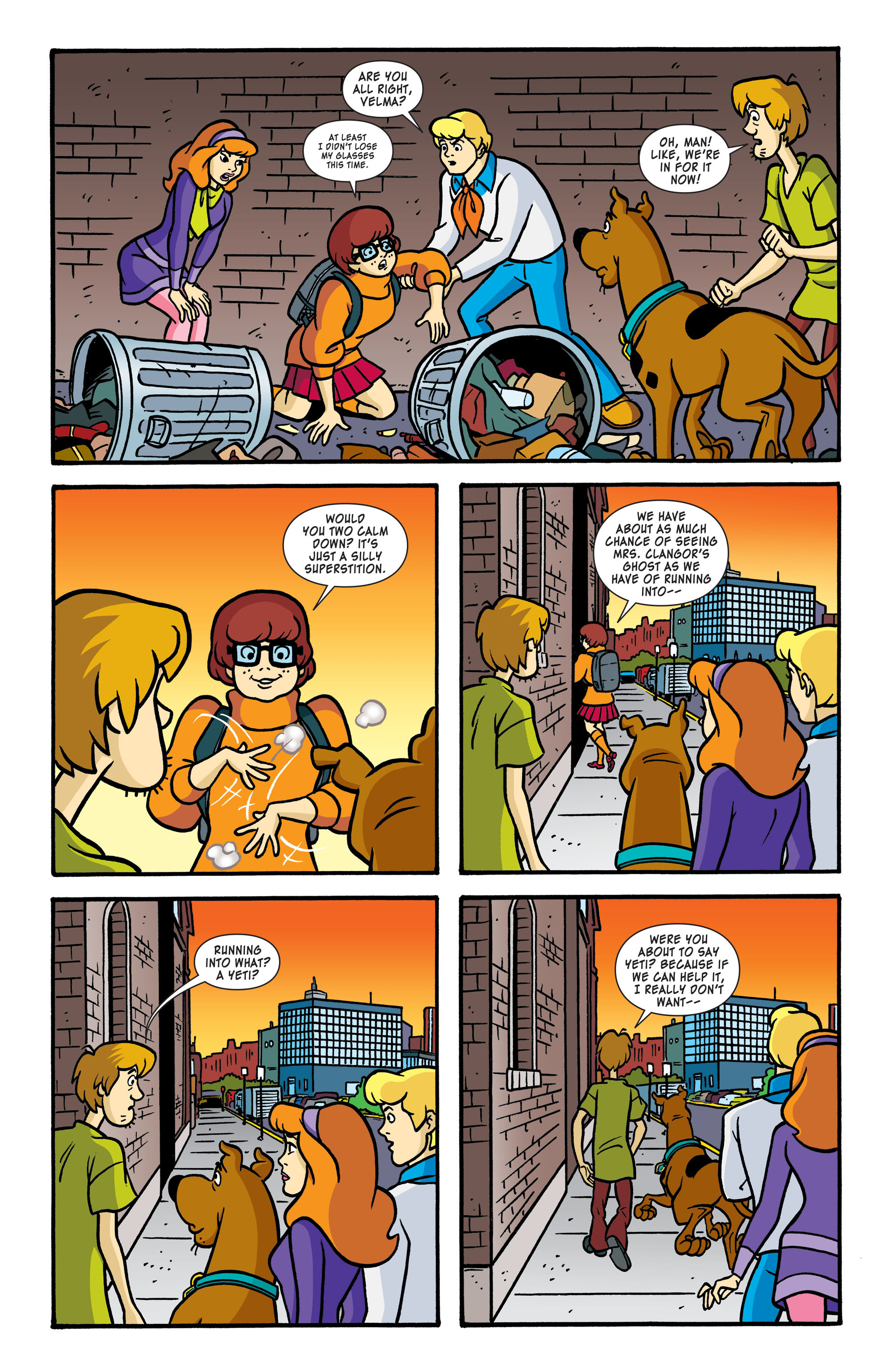 Read online Scooby-Doo: Where Are You? comic -  Issue #56 - 4