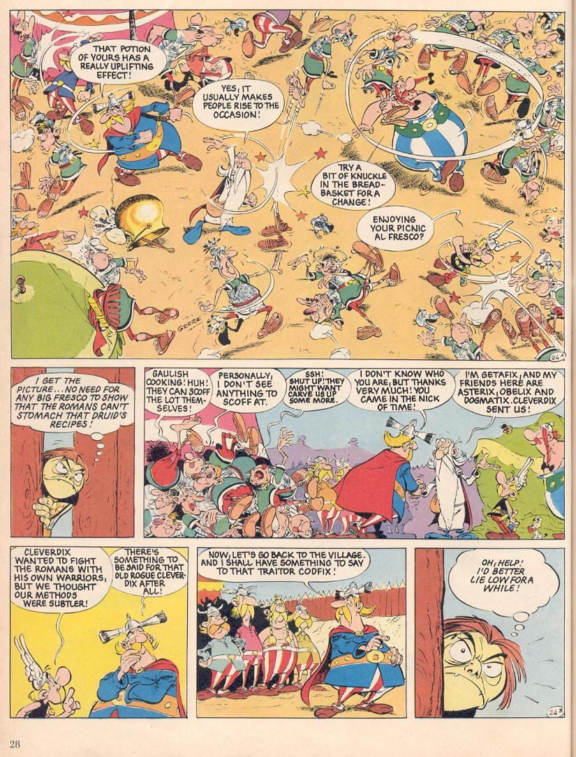 Read online Asterix comic -  Issue #25 - 25