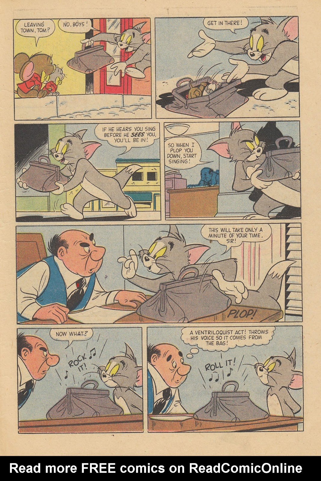 Tom & Jerry Comics issue 159 - Page 7