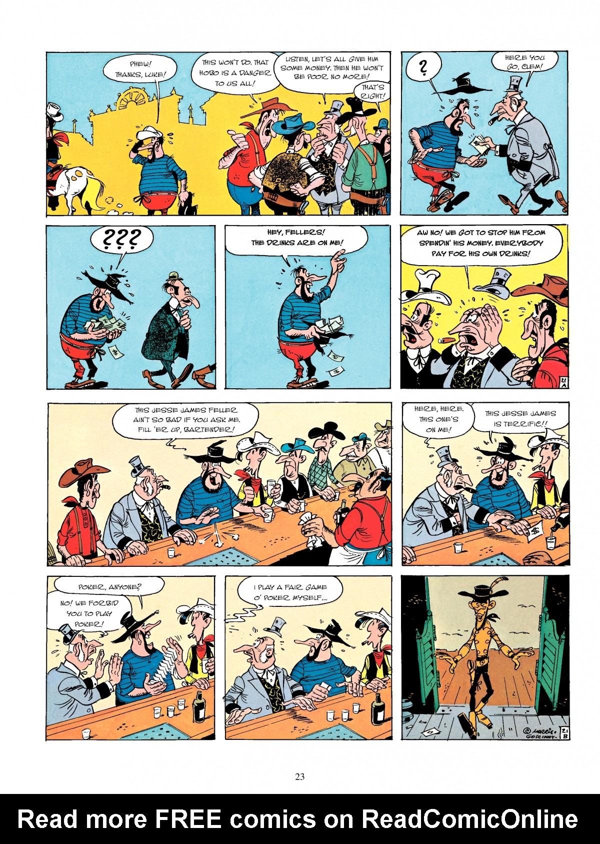 Read online A Lucky Luke Adventure comic -  Issue #4 - 25