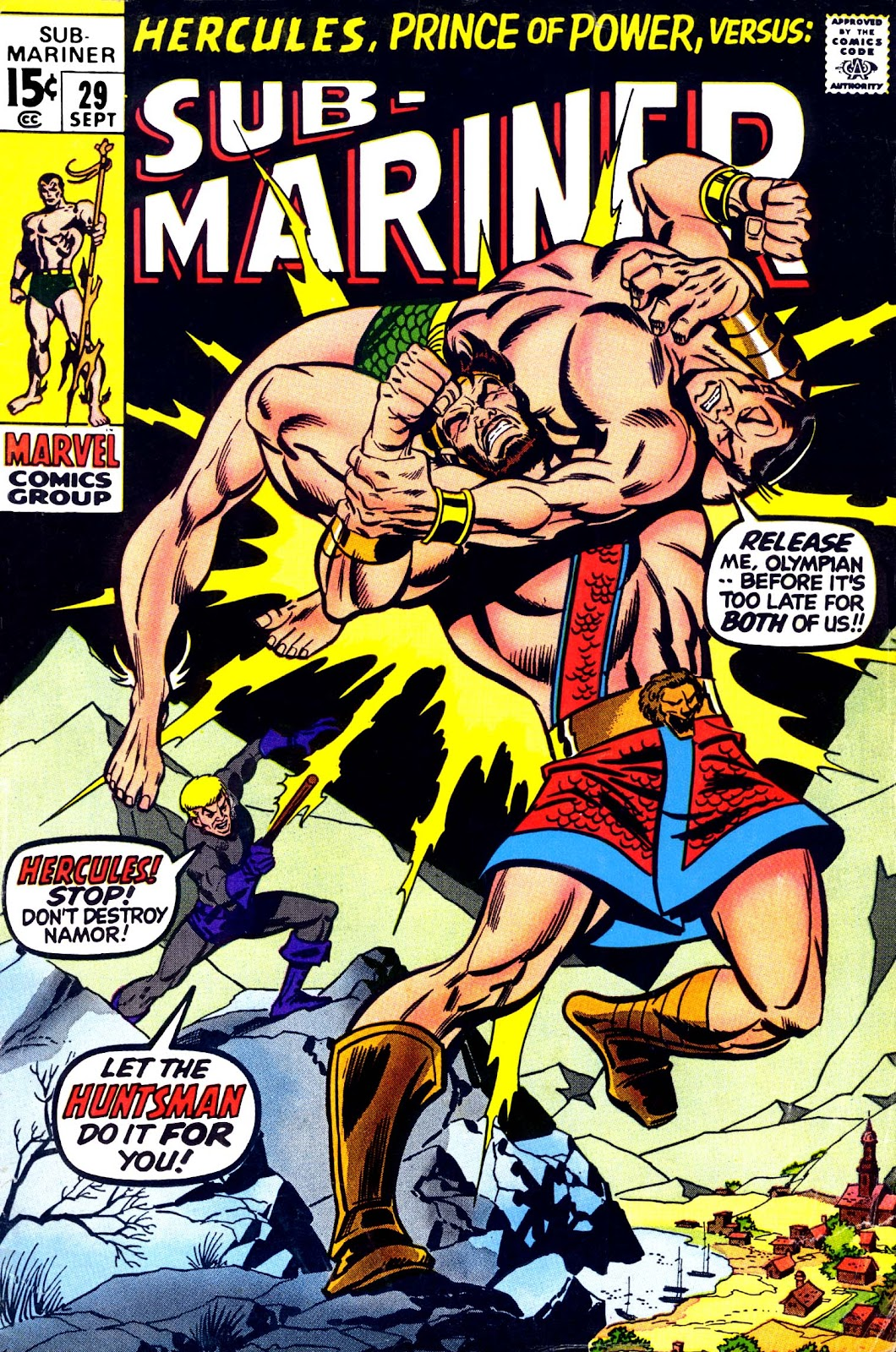 The Sub-Mariner 29 Page 1