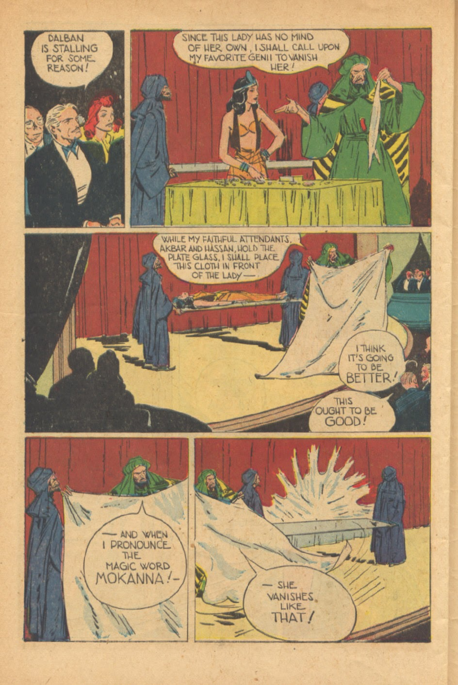 Read online Super-Magician Comics comic -  Issue #41 - 46