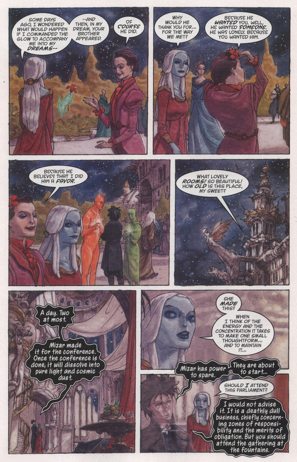 Read online The Sandman: Endless Nights comic -  Issue # _Special - 10
