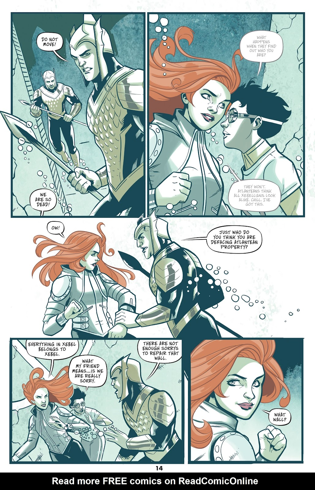 Read online Mera: Tidebreaker comic -  Issue # TPB (Part 1) - 14