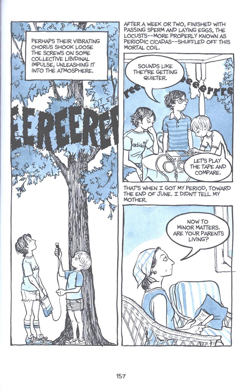 Read online Fun Home: A Family Tragicomic comic -  Issue # TPB - 163
