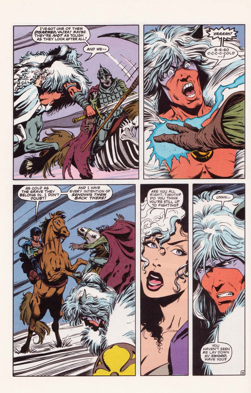 Read online Advanced Dungeons & Dragons comic -  Issue #22 - 12