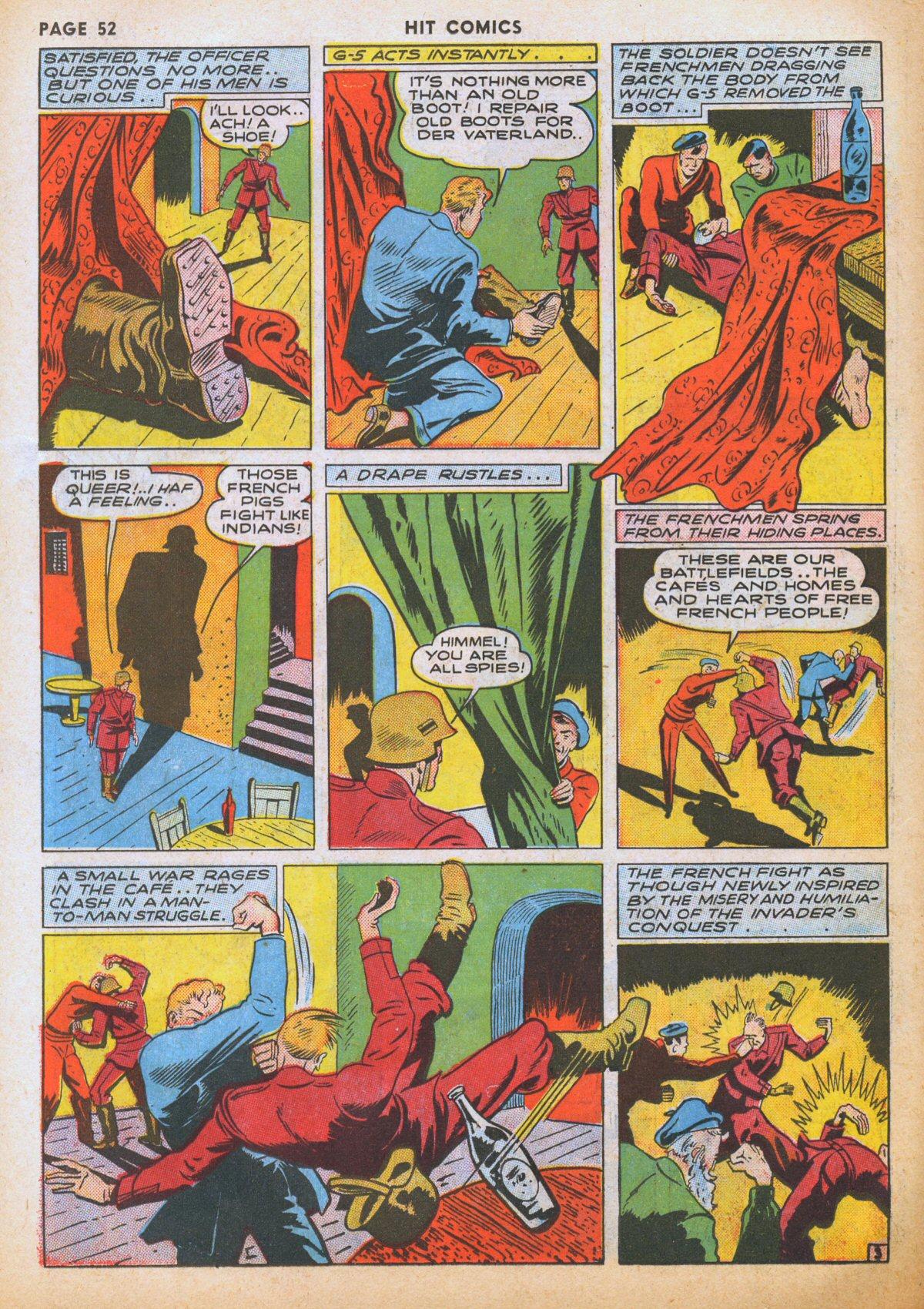 Read online Hit Comics comic -  Issue #12 - 54