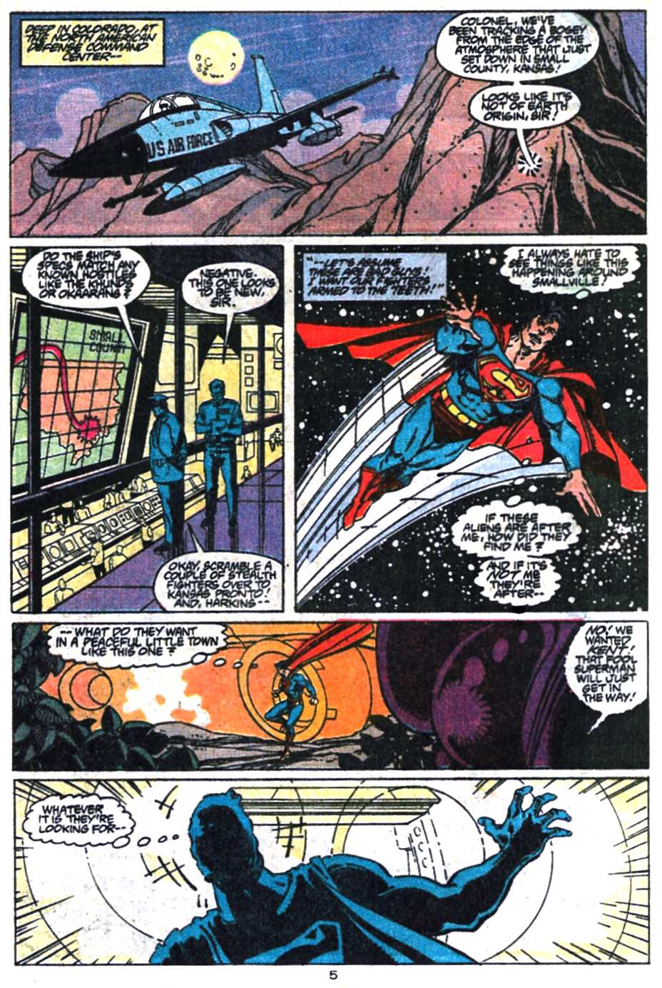 Read online Adventures of Superman (1987) comic -  Issue #469 - 6