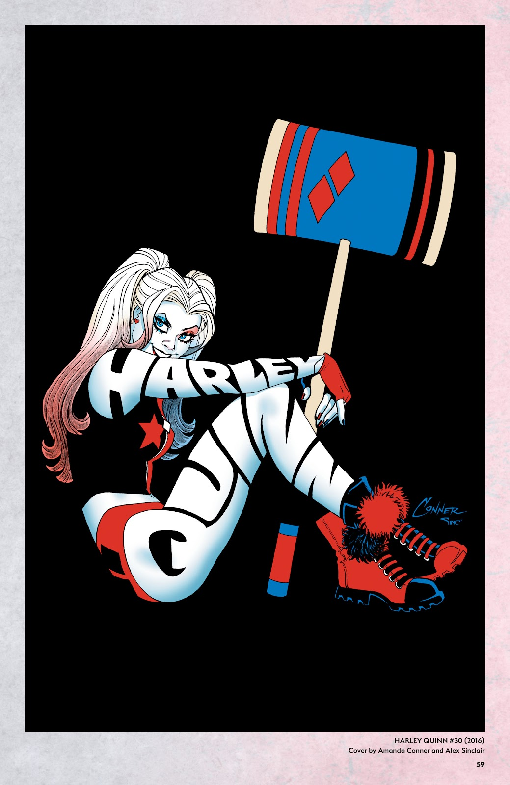Read online Harley Quinn: A Rogue's Gallery―The Deluxe Cover Art Collection comic -  Issue # TPB (Part 1) - 57