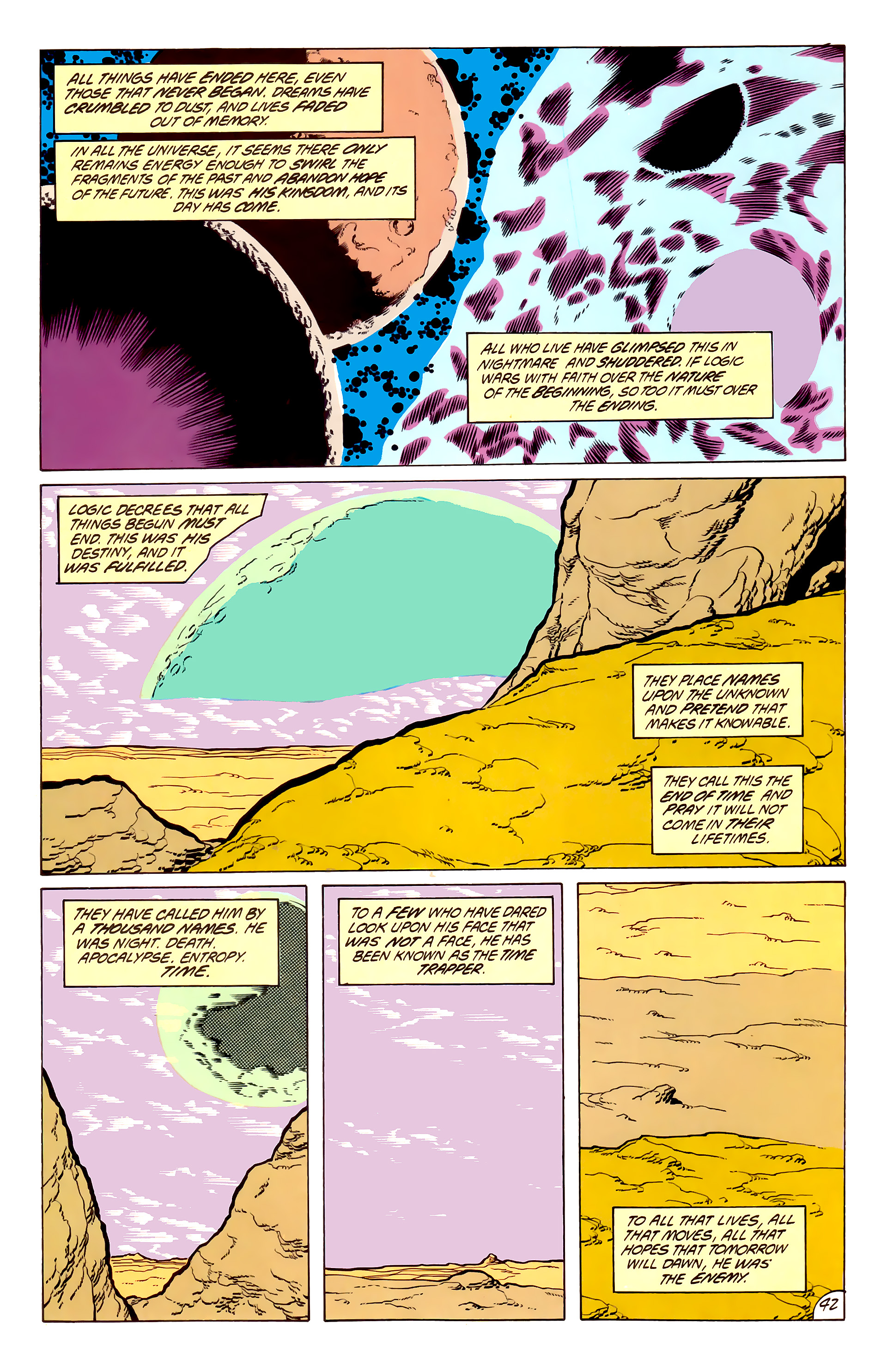 Legion of Super-Heroes (1984) 50 Page 41