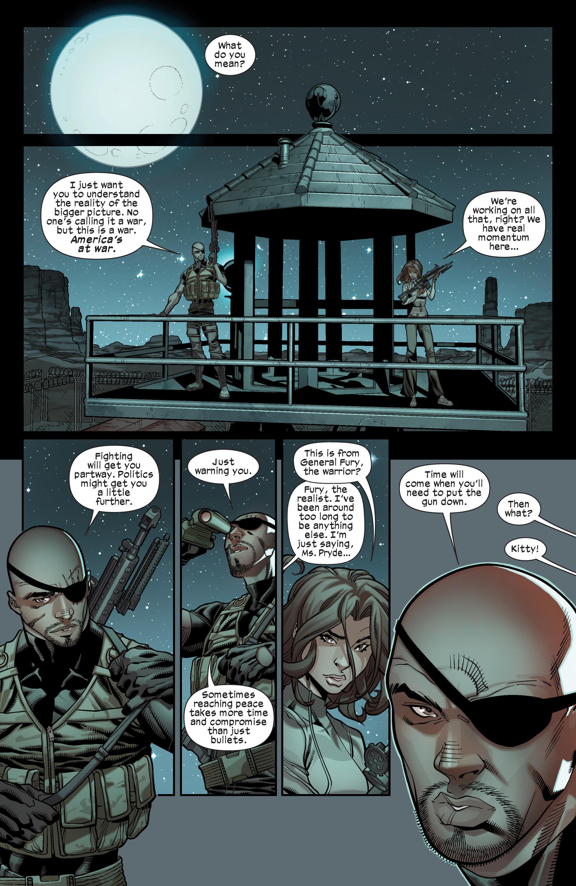 Read online Ultimate Comics X-Men comic -  Issue #17 - 19