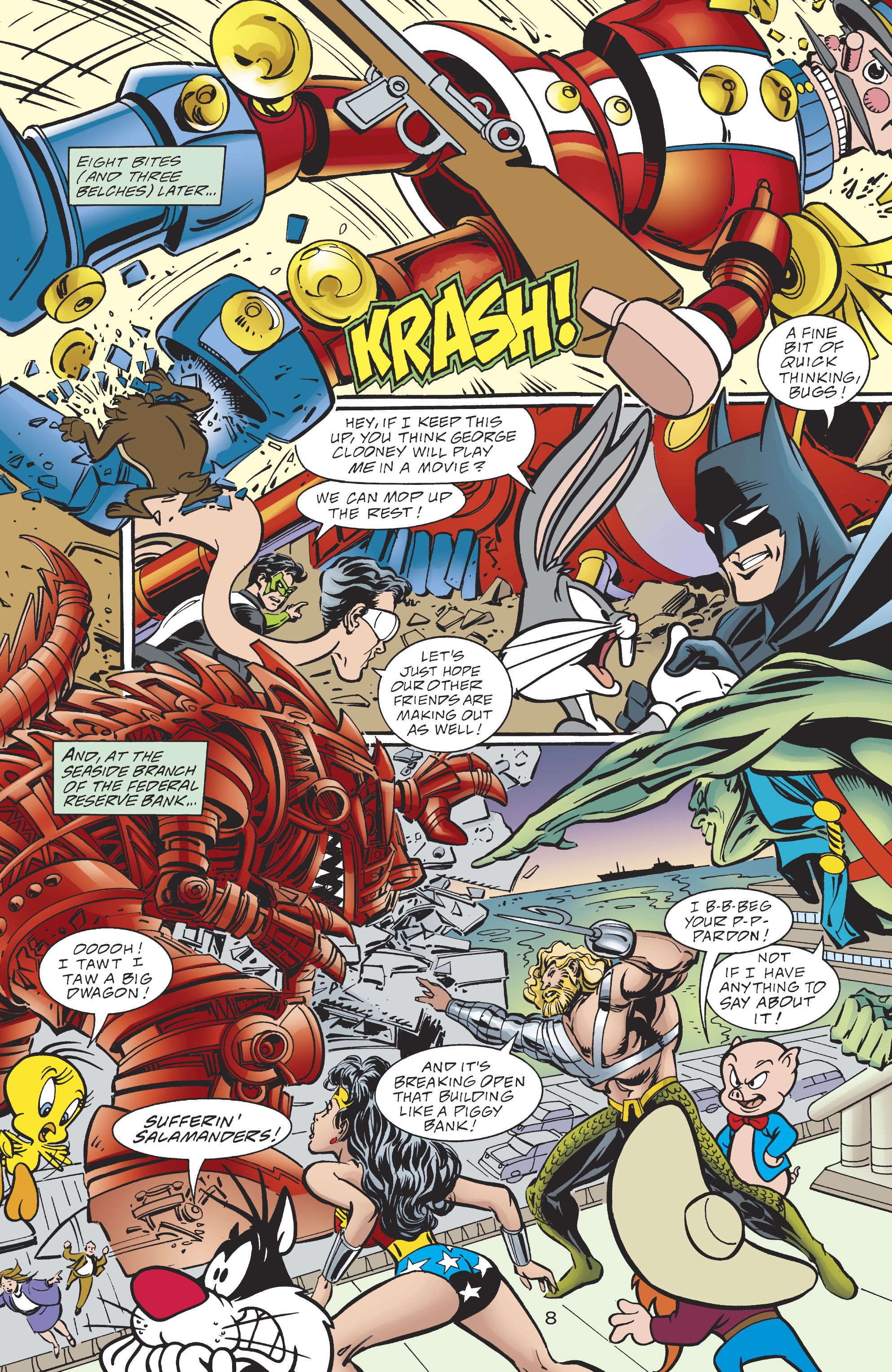 Read online DC/Looney Tunes 100-Page Super Spectacular comic -  Issue # Full - 81