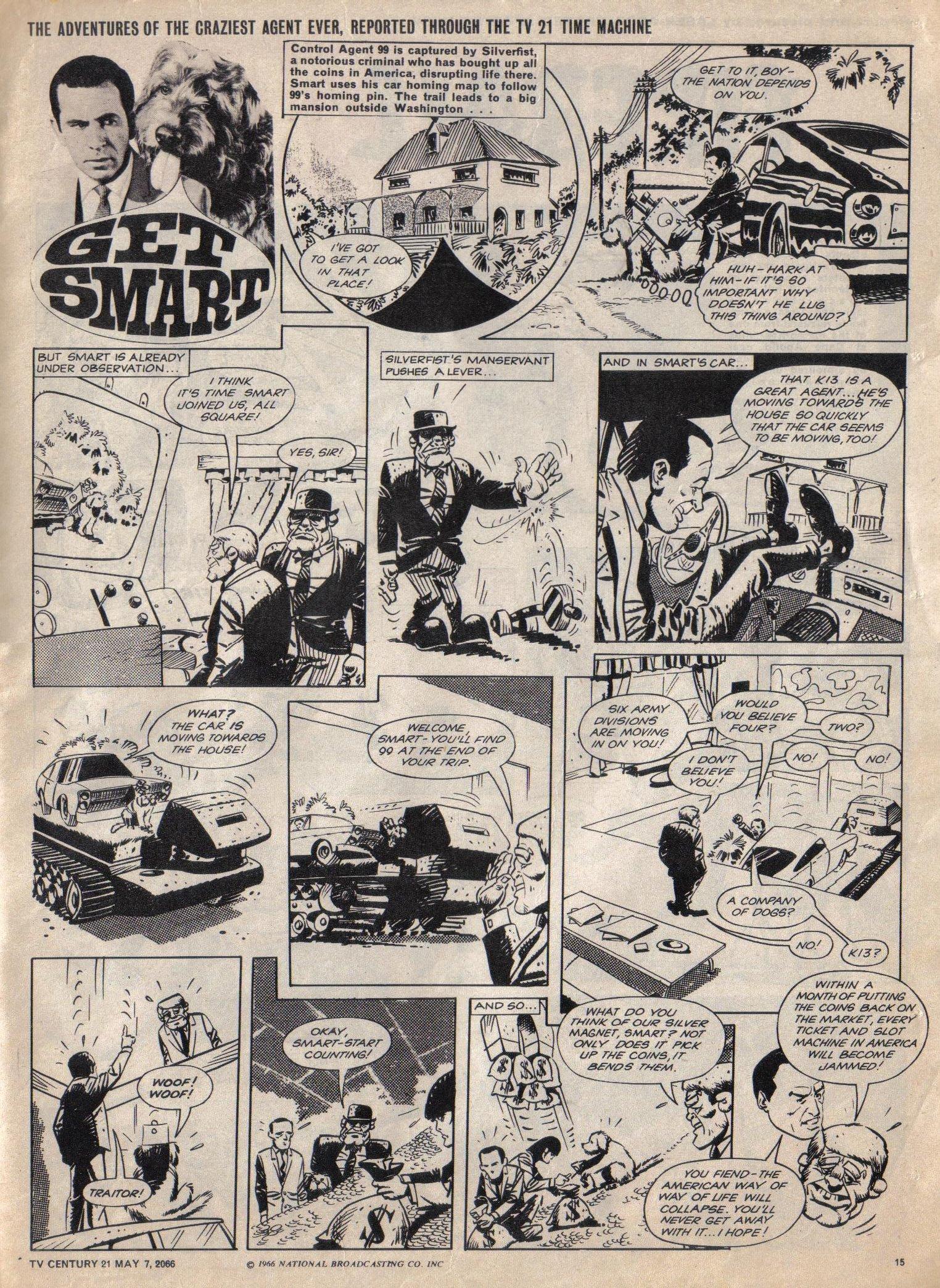 Read online TV Century 21 (TV 21) comic -  Issue #68 - 14