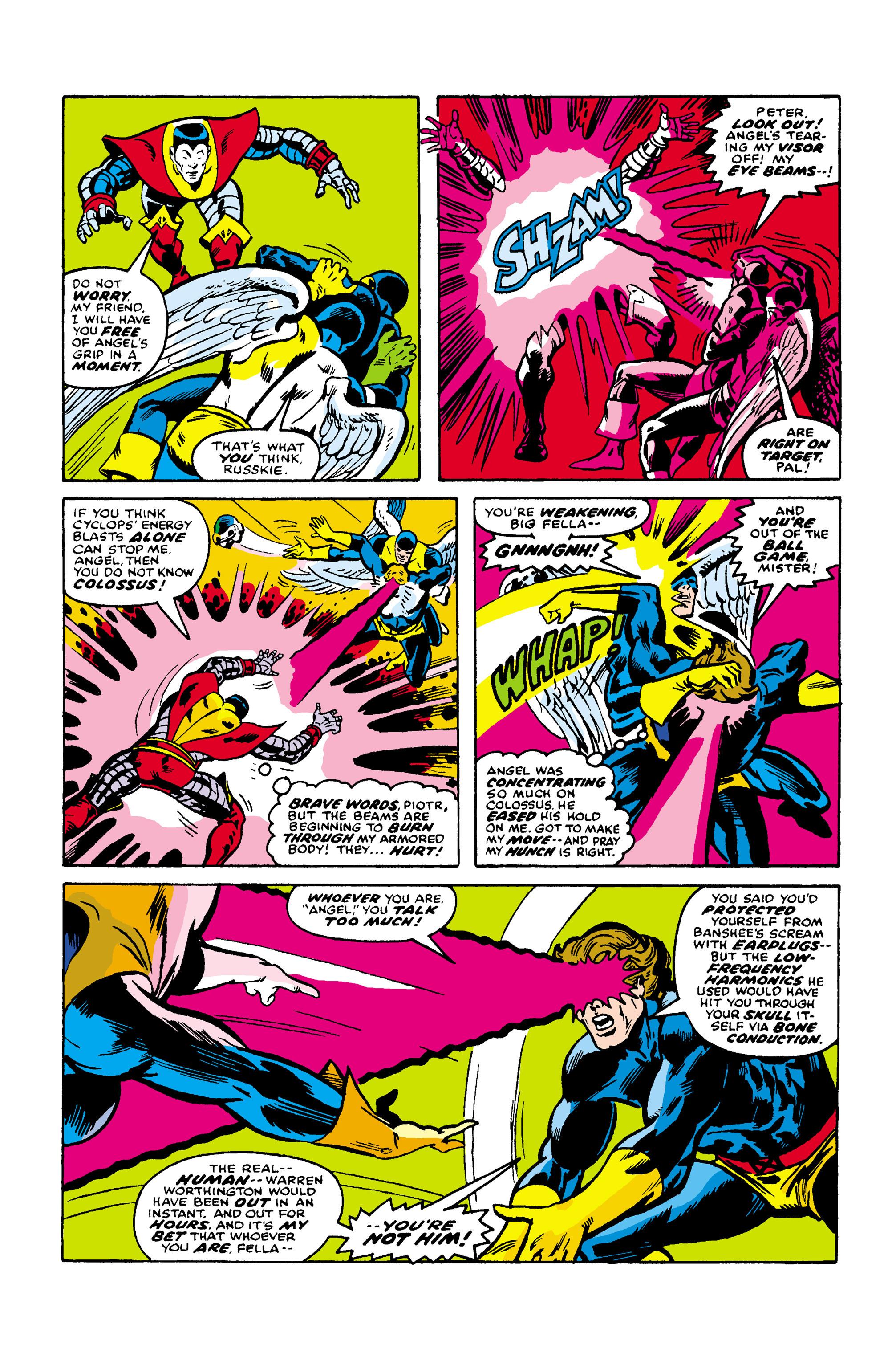 Read online Uncanny X-Men (1963) comic -  Issue #106 - 12