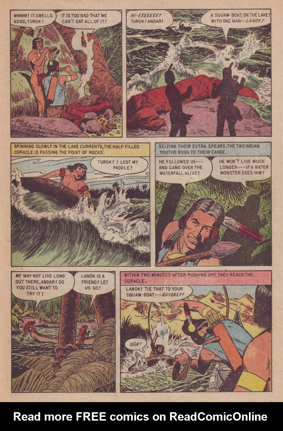 Read online Turok, Son of Stone comic -  Issue #3 - 33