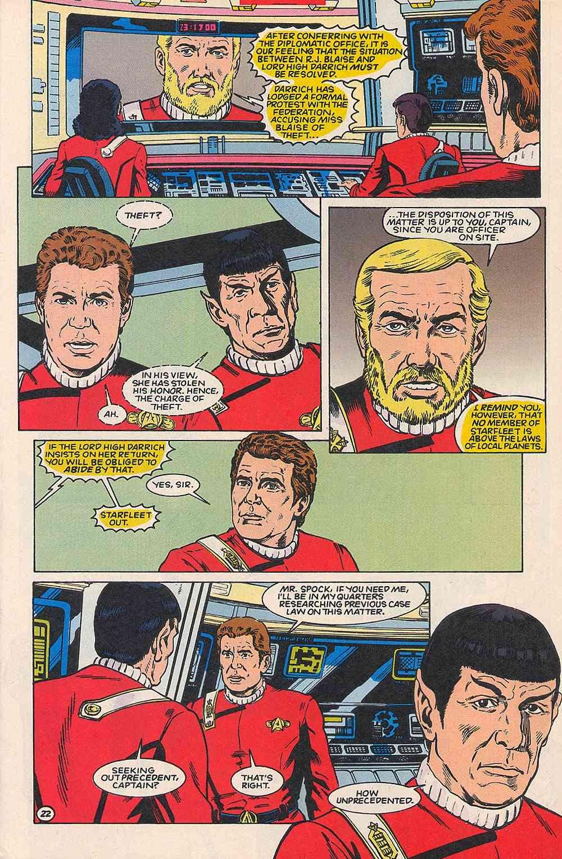 Read online Star Trek (1989) comic -  Issue # _Special 1 - 27