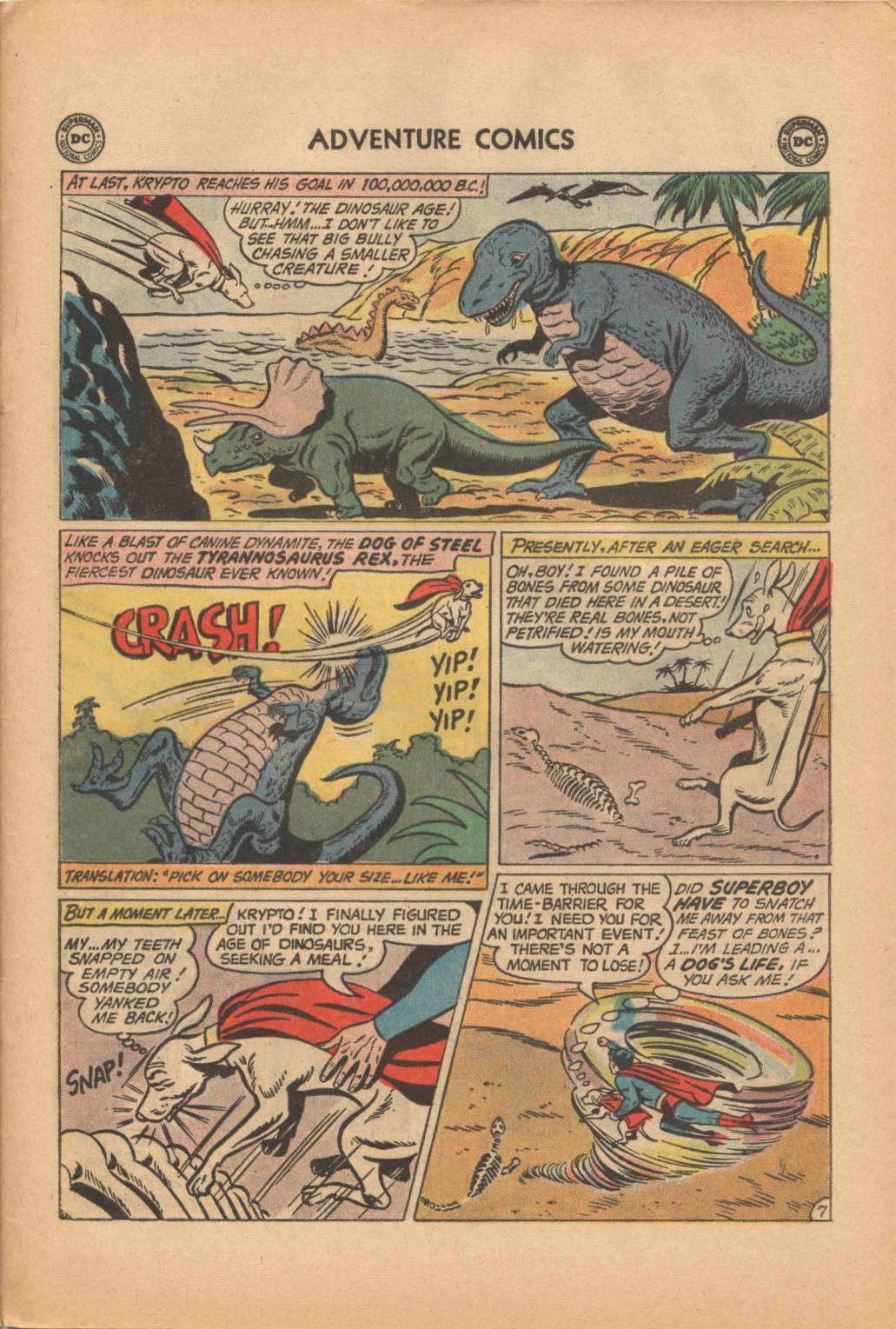 Read online Adventure Comics (1938) comic -  Issue #323 - 31