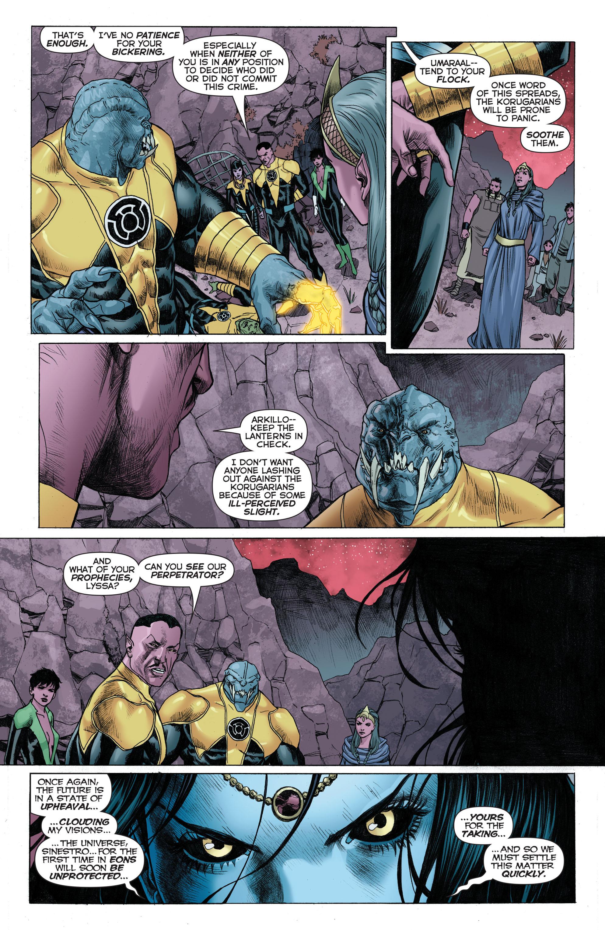 Read online Sinestro comic -  Issue # Annual 1 - 5