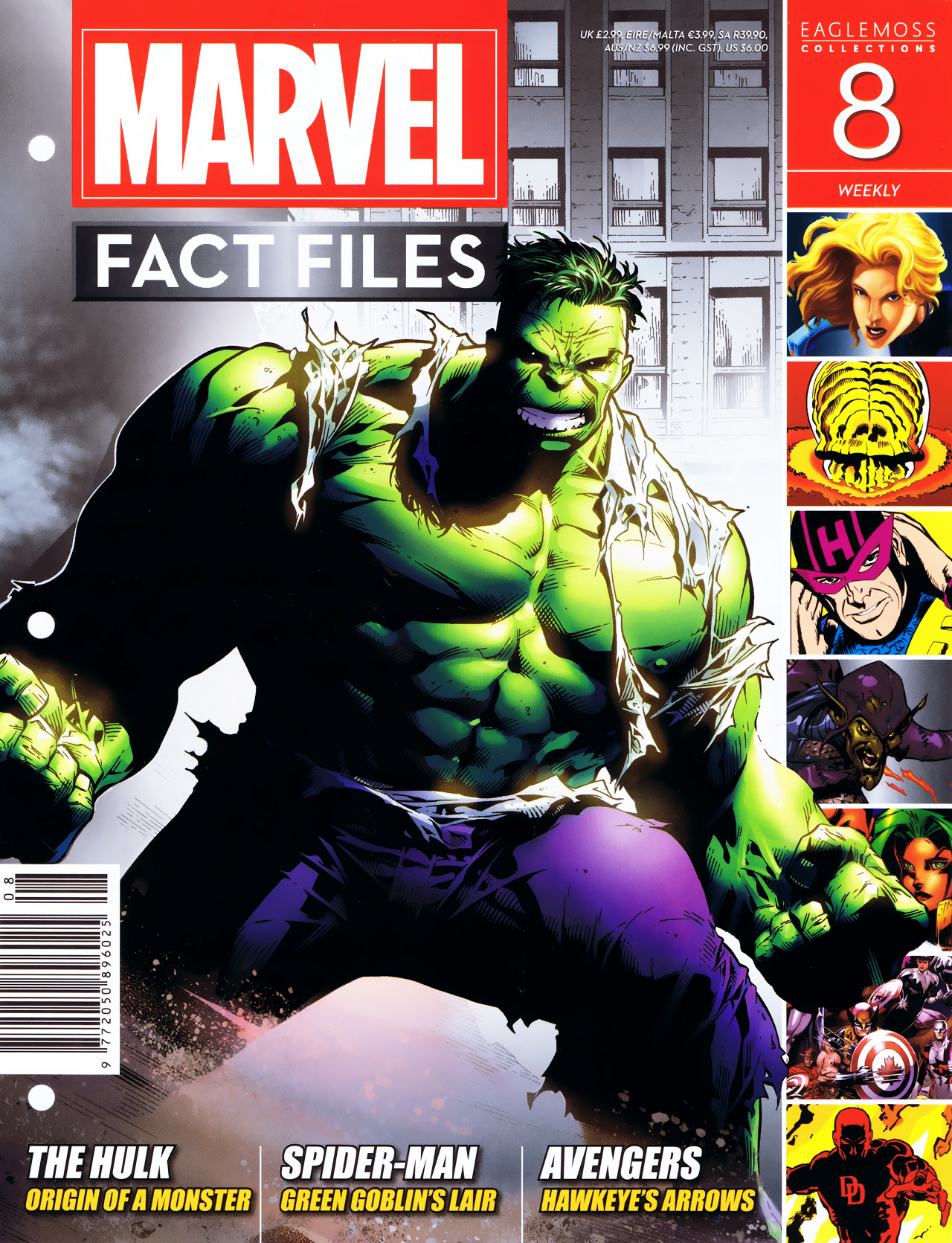 Marvel Fact Files 8 Page 1