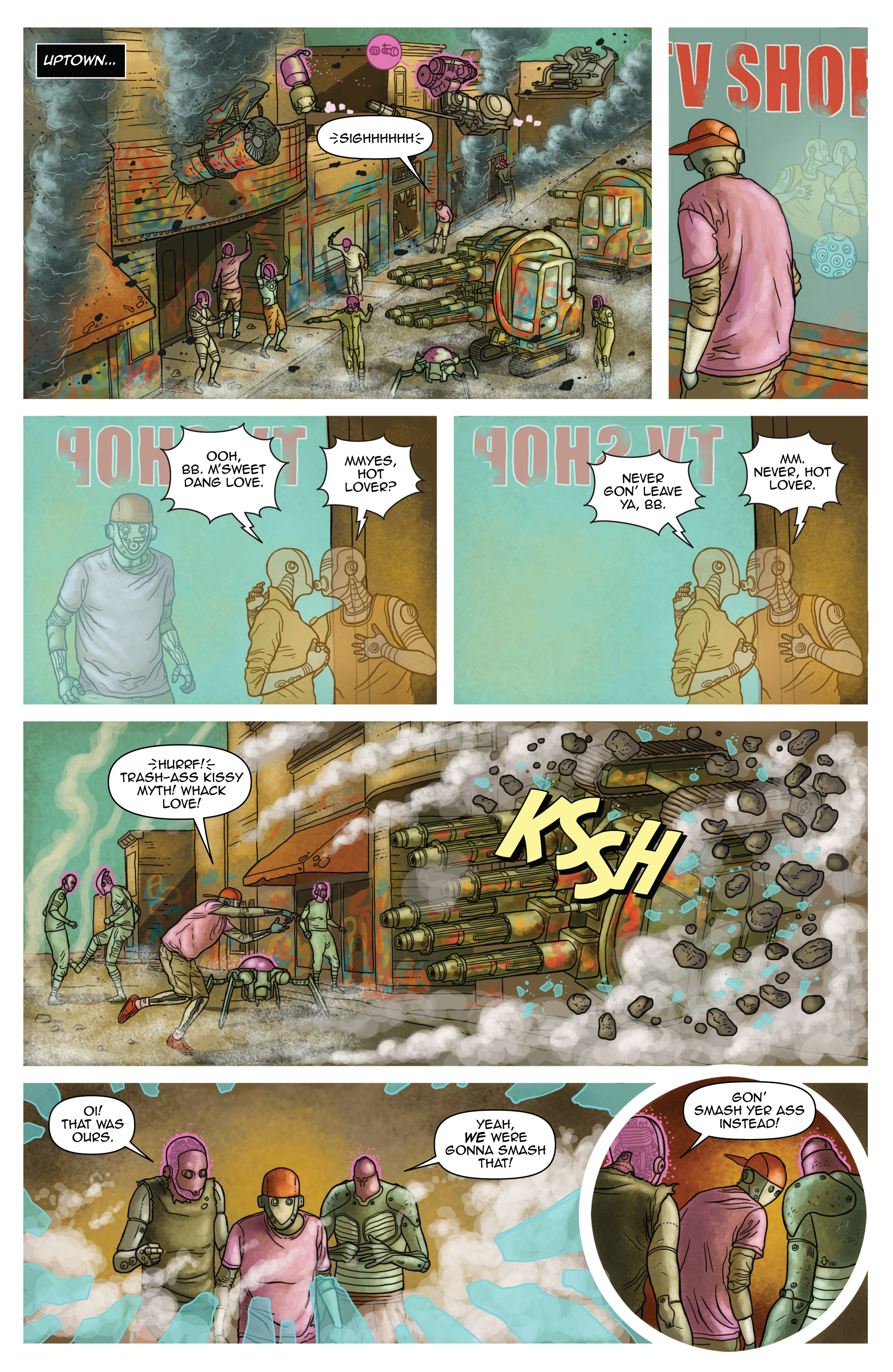 Read online D4VEocracy comic -  Issue #4 - 6