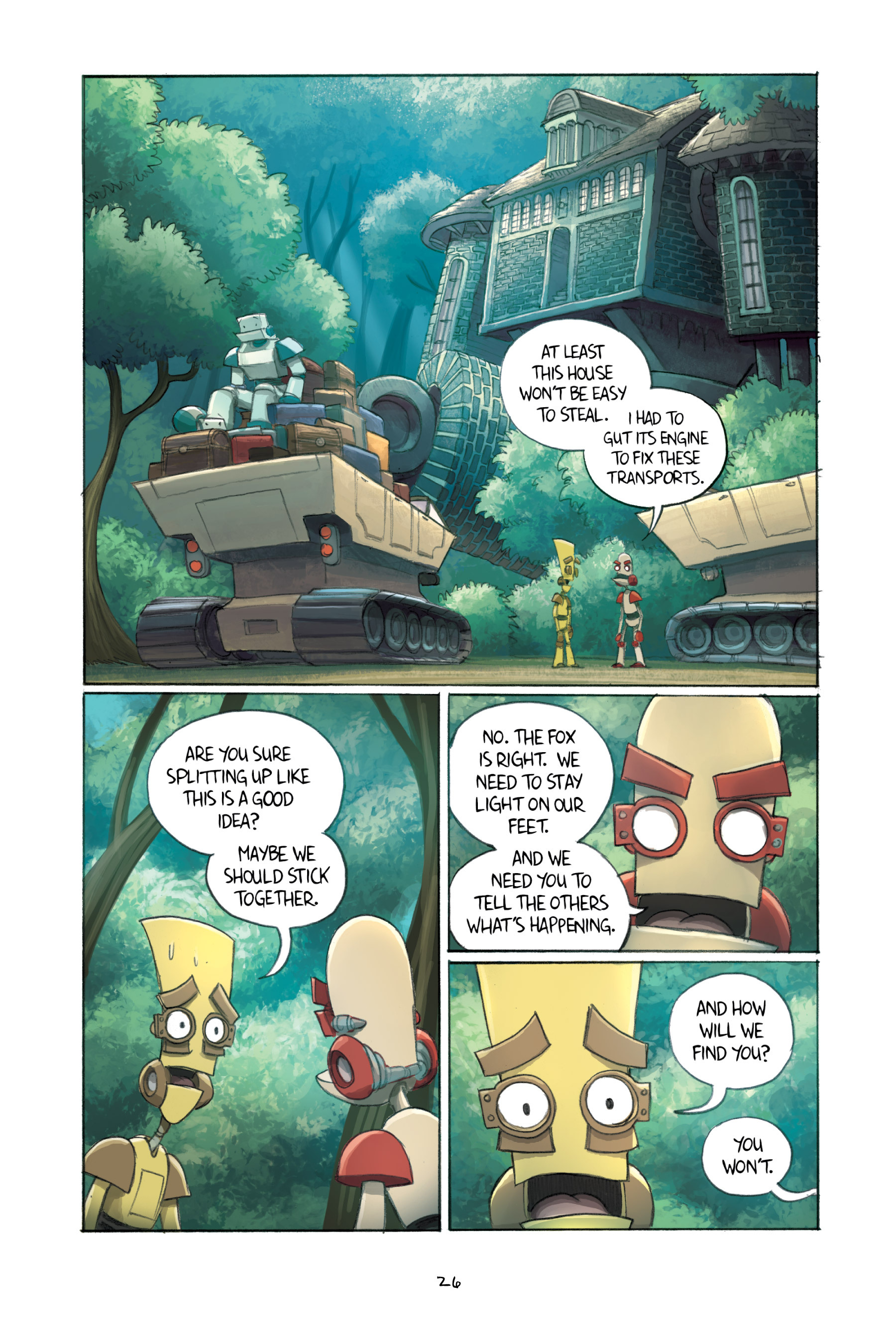 Read online Amulet comic -  Issue #3 - 26