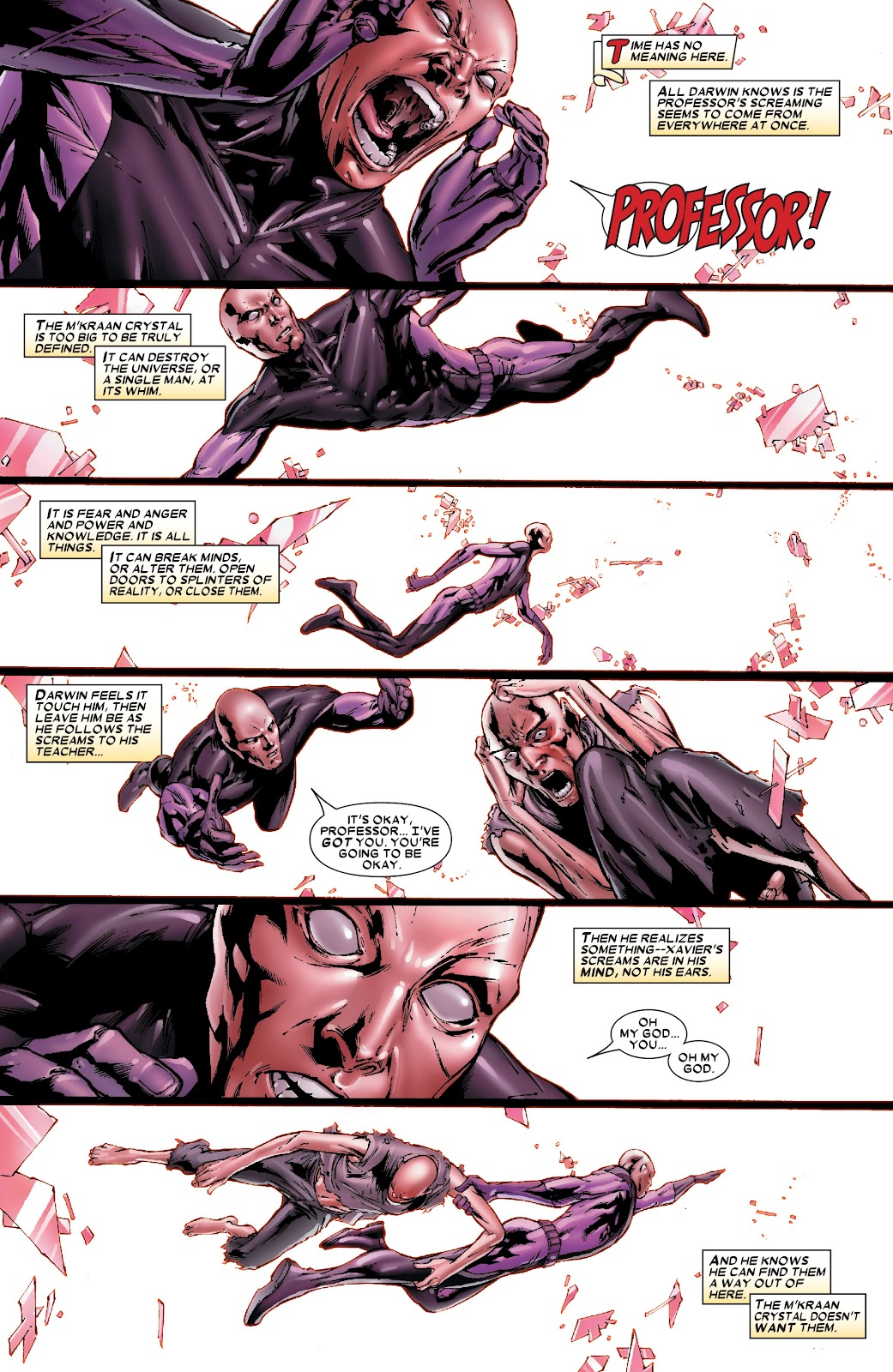 Uncanny X-Men (1963) issue 486 - Page 3