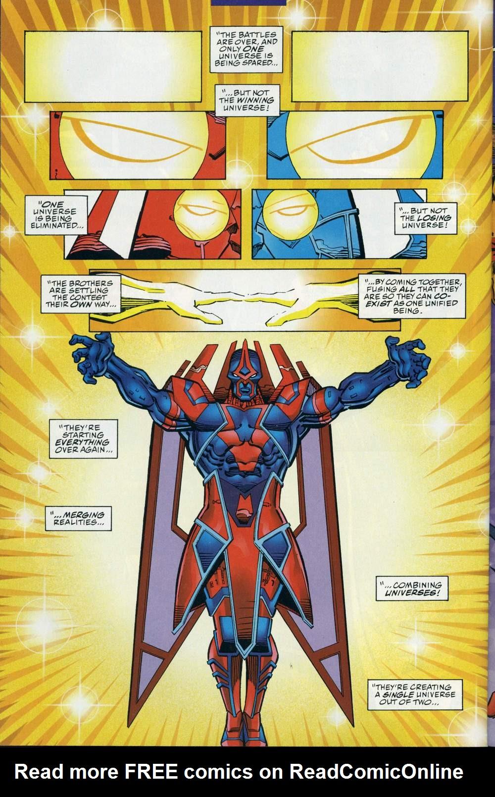 Read online DC Versus Marvel Comics comic -  Issue #3 - 39